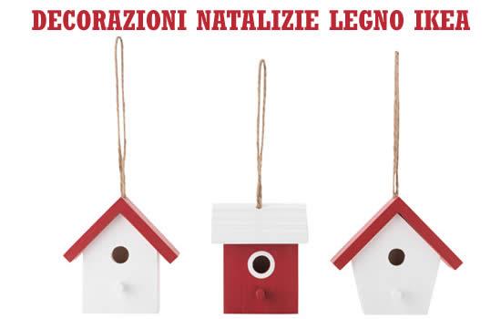Ikea addobbi di natale decorazioni natalizie legno ikea for Ikea decorazioni