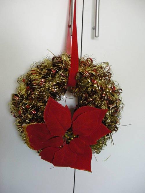 Foto ghirlande di natale bellissime ghirlande di natale - Addobbi natalizi per la tavola fai da te ...