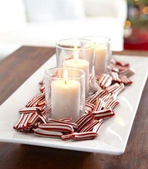 Addobbi natalizi decorazioni di natale candele - Decorare candele per natale ...