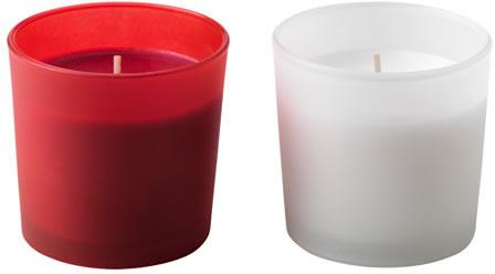 Ikea addobbi di natale candele profumate for Ikea portacandele